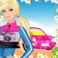 Barbie Carro de Competición