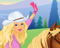 Barbie a Caballo