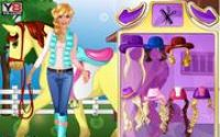 Barbie va a Caballo