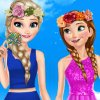 Elsa And Anna Spring Dress
