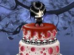 Emo pastel de boda