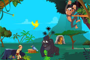 Gorilas en la Selva