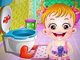 juegos de chicas,Hazel Higiene en el Baño