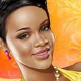 Maquillar a Rihanna