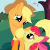 Pony Recogiendo Manzanas