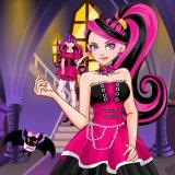 juegos de chicas,Vestirse como Draculaura