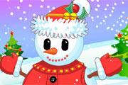 juegos de chicas,el hombre de nieve