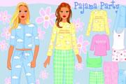 juegos de chicas,Fiesta de Piyama