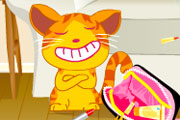juegos de chicas,gracioso gatito