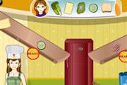 juegos de chicas,hacer un sandwich