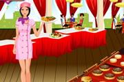 juegos de chicas,linda camarera