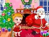 Bebé Hazel Tiempo de Navidad