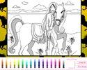 Colorear Pony de Barbie