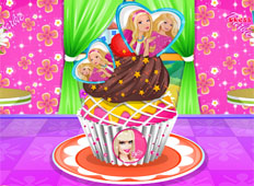 Cupcakes Decorados con Barbie