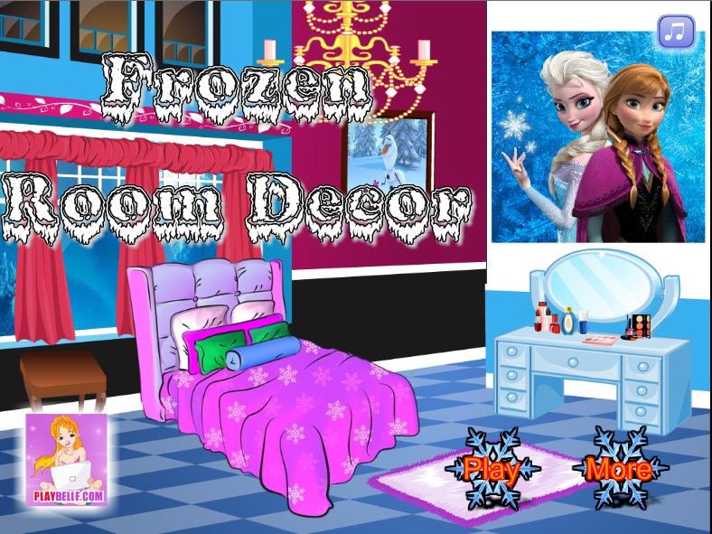 Frozen  Decorar su Dormitorio