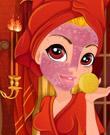 Maquillar a la Princesa Fuego