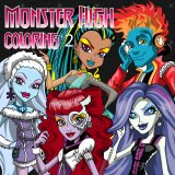 Monster High para Colorear 2