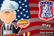 el hot dog de bush